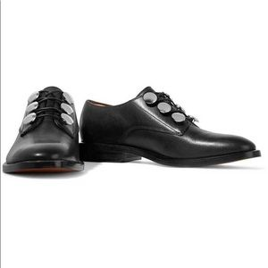 Alexander Wang Matilda Black Derby Shoes